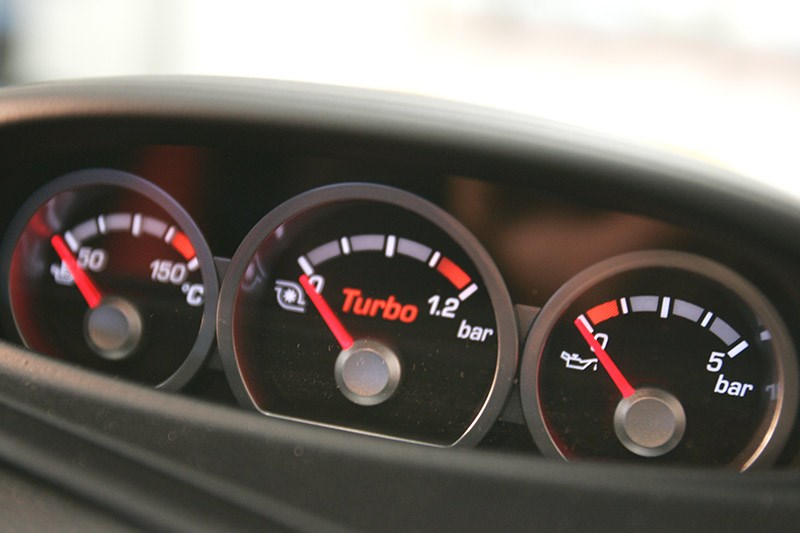 ford xr5 turbo gauges