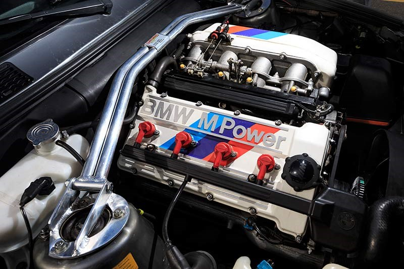 1 BMW E30 M3 engine
