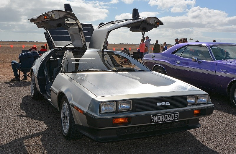 180 show shine Matt Warren s DeLorean DMC 12