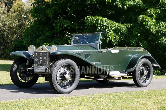 1927 Lancia Lambda Short Chassis 2-door Tourer. SOLD $47,000