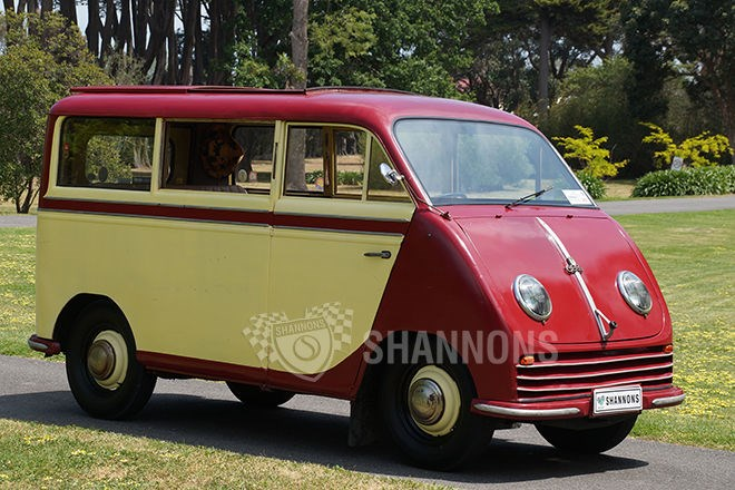 1951 DKW Schnell Laster 8 Seater Bus RHD. SOLD $39,000