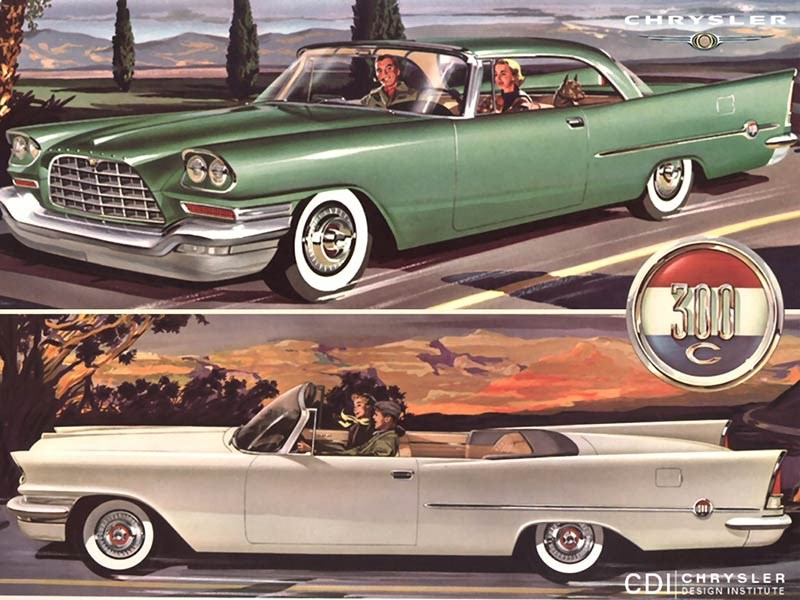 1957 Chrysler 300C ad