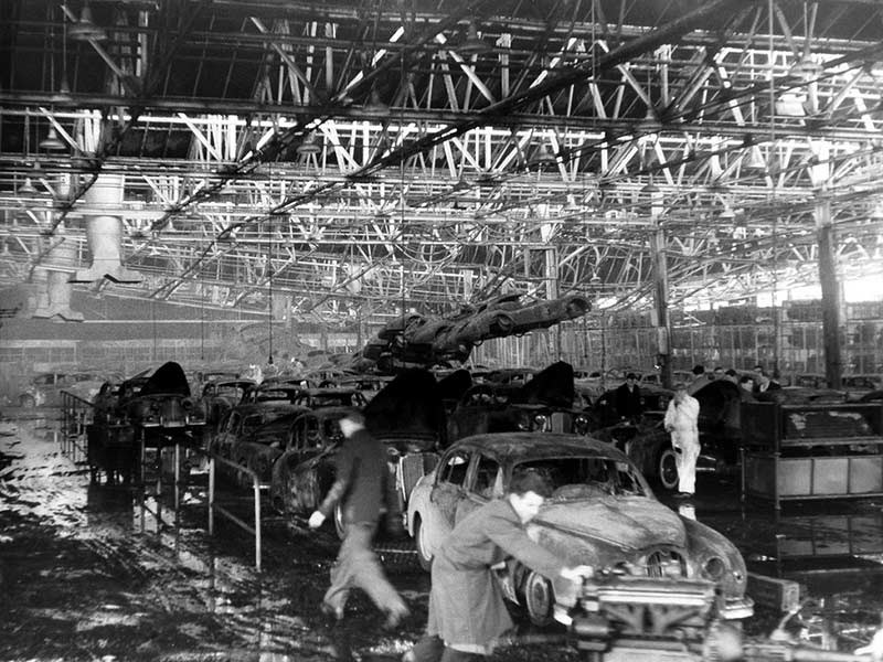 1957 fire at jaguars browns lane plant