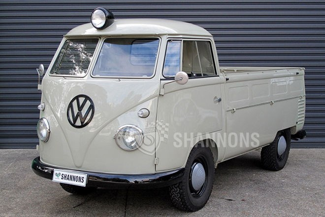 1959 Volkswagen Transporter Split Window Utility LHD