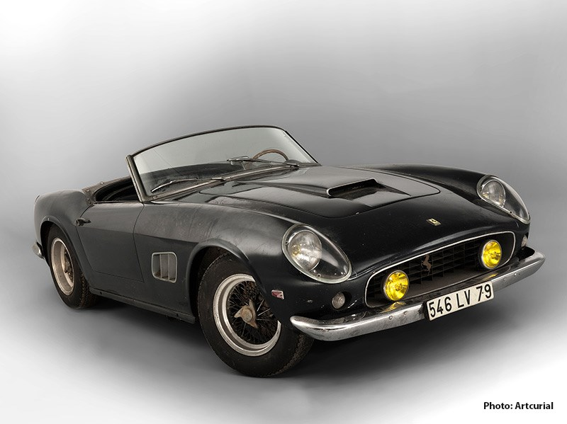 1961 Ferrari 250 GT SWB California Spider, Collection Baillon