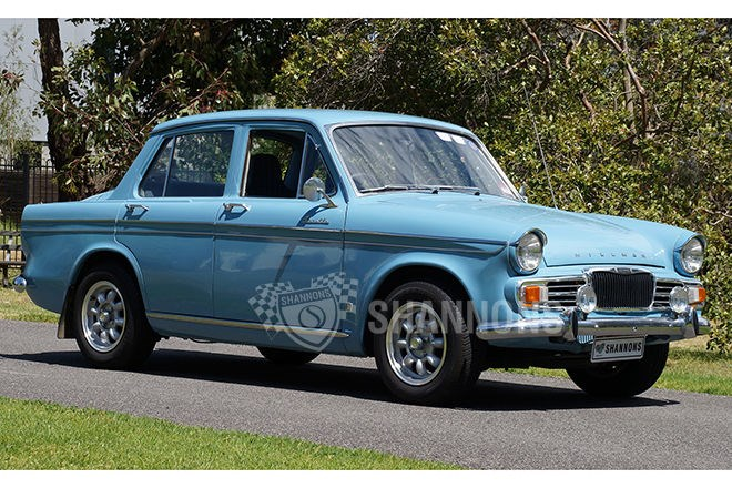 1966 Hillman Gazelle 1725cc Saloon. SOLD $7500
