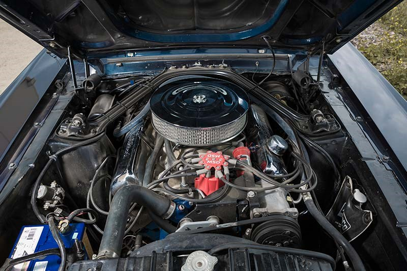 1967 FORD MUSTANG GT390 FOUR SPEED engine