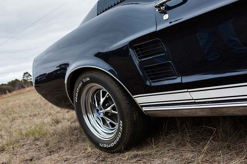 1967 FORD MUSTANG GT390 FOUR SPEED wheel