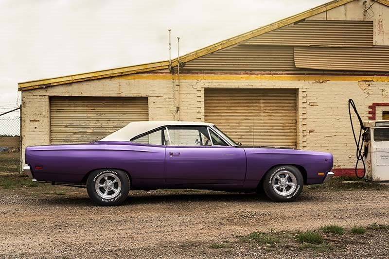 1969 PLYMOUTH ROAD RUNNER 383 FOUR SPEED 3