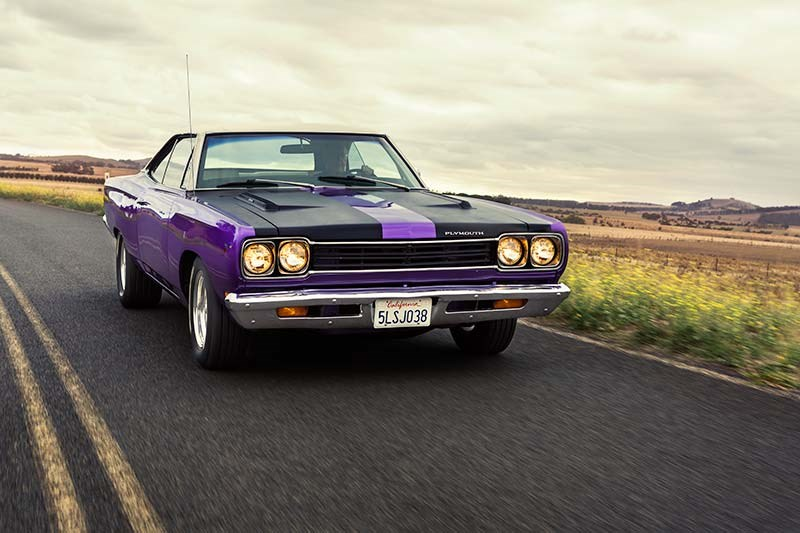1969 PLYMOUTH ROAD RUNNER 383 FOUR SPEED