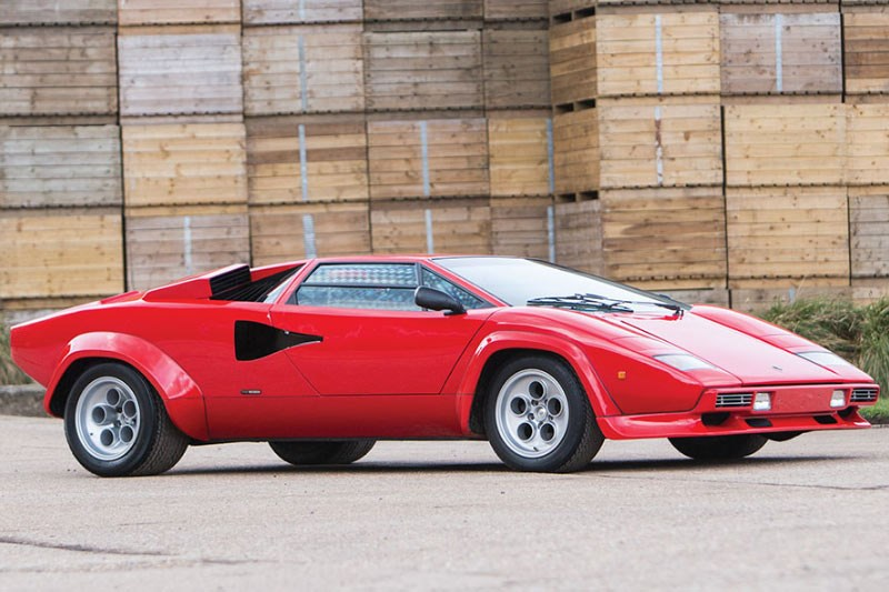 1978 Lamborghini Countach LP400 S Series I by Bertone