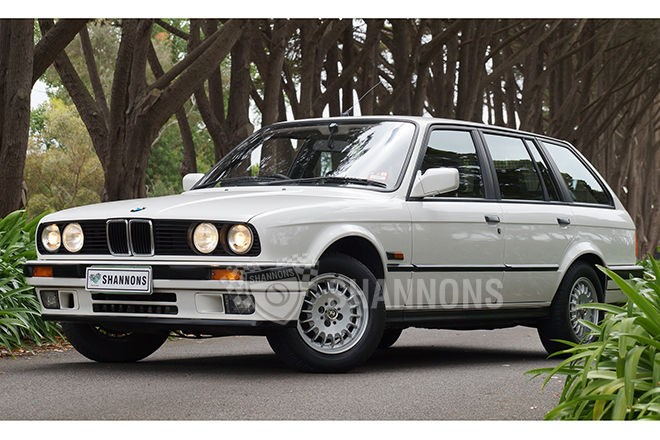 1988 BMW 325i e30 Touring Wagon. SOLD $10,500