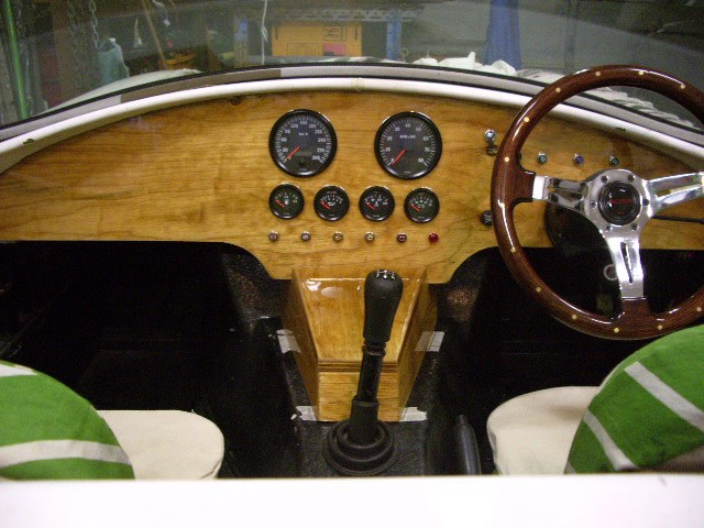 Centre Console finished (2010)