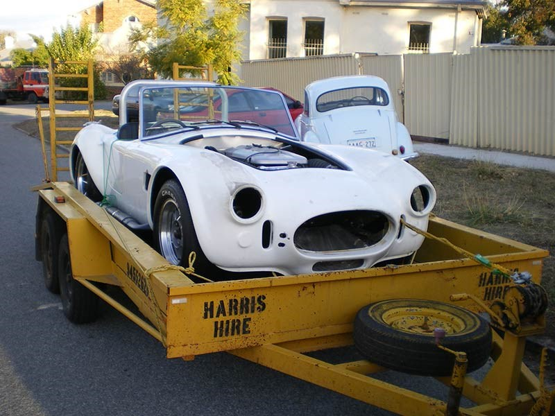 Graham's second Cobra as it was taken home after purchase (2009)