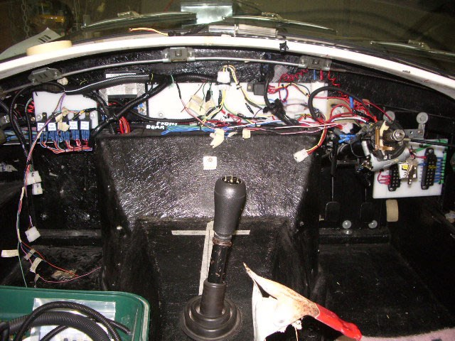 Wiring progress as at (2009)