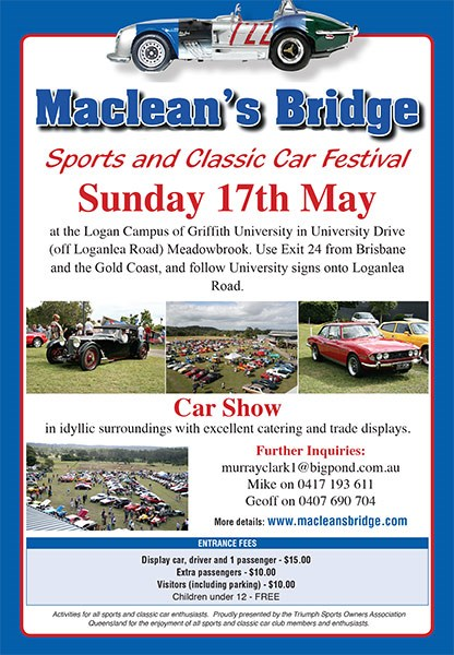 Maclean's Bridge Sports and Classic Car Festival
