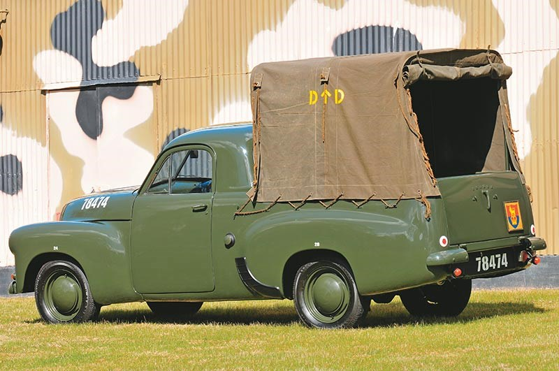 Army FX Holden XP Ford 131