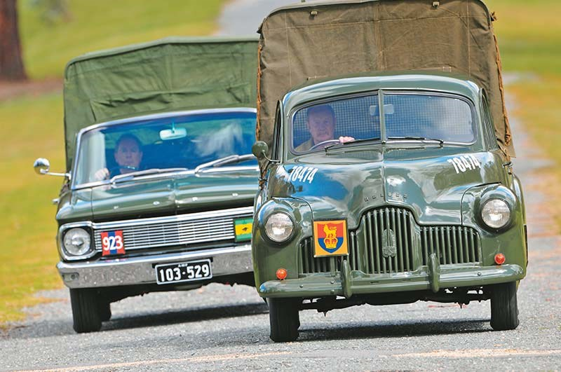 Army FX Holden XP Ford 235