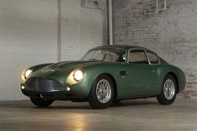 1962 Aston DB4GT Zagato sold for $19.7m