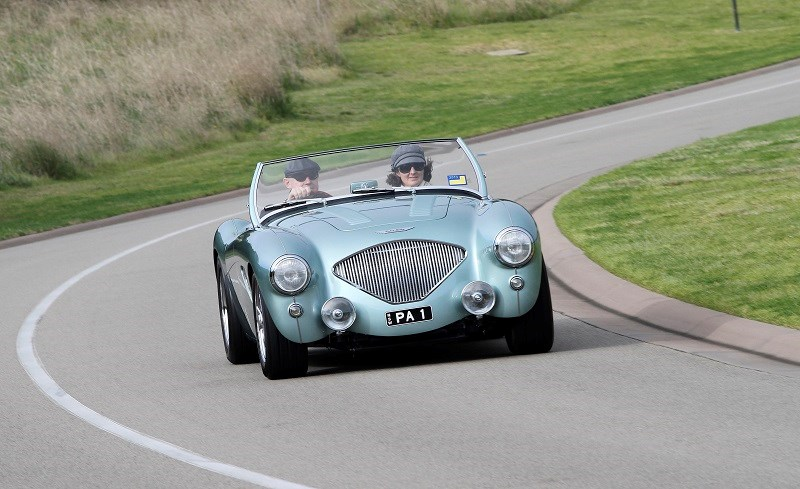 Austin Healey 100 6 Peter and Candice Anderson 05