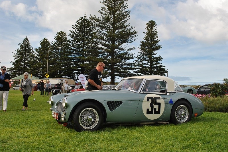 Austin Healey 3000 Mk II BJ7 1962 ex 1963 Sebring car Tony Parkinson 01