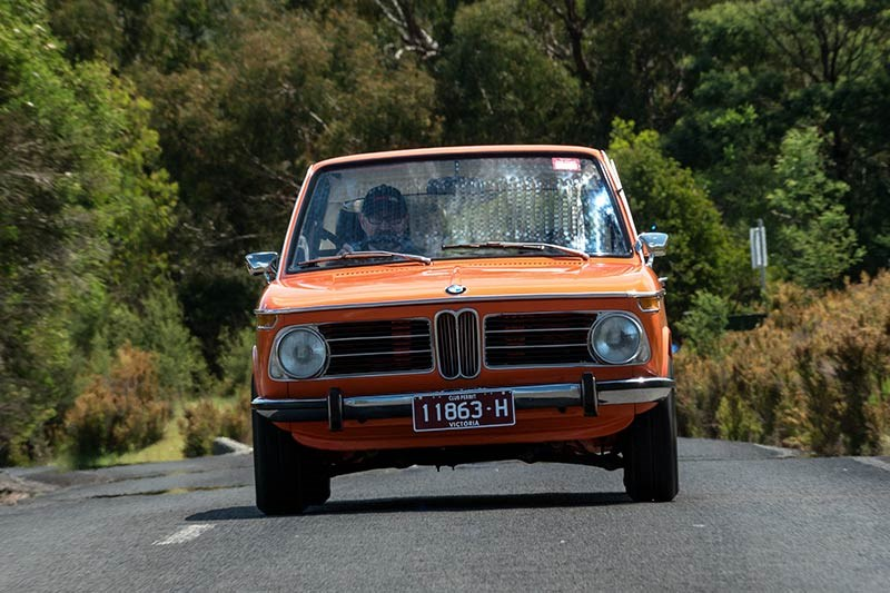 BMW 2002 frontview onroad