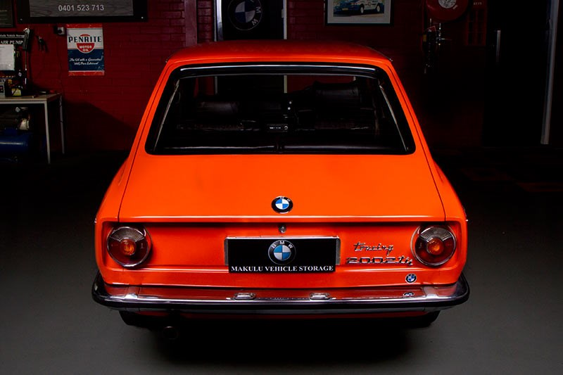 BMW 2002 rear view