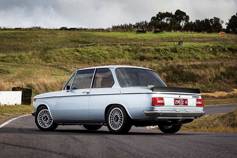 BMW 2002 still rear