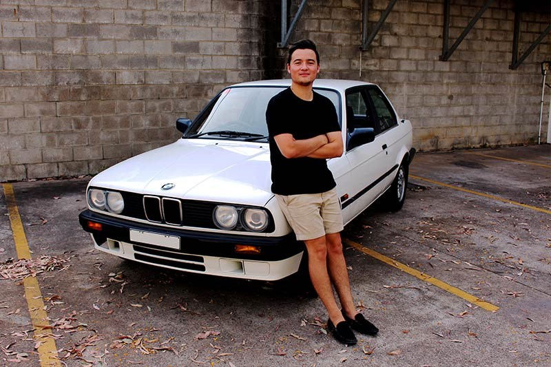 BMW E30 dexter johnson