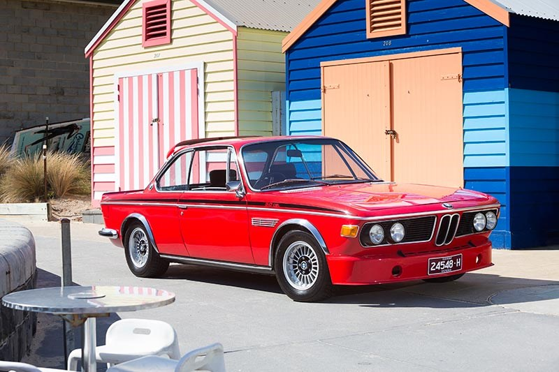 BMW E9 CSL front side