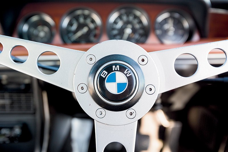 BMW E9 CSL steering wheel