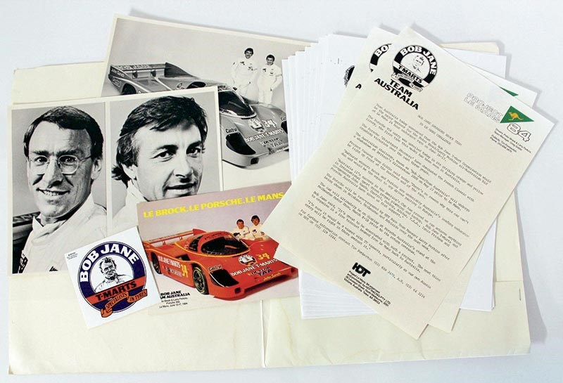 Brock Le Mans press pack