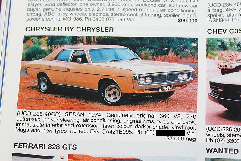 CHRYSLER 360 JUN 04