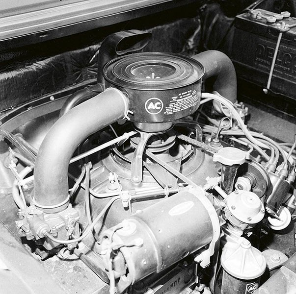 Chevrolet Corvair engine
