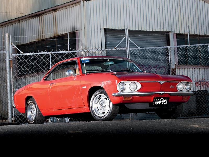 Chevrolet Corvair side