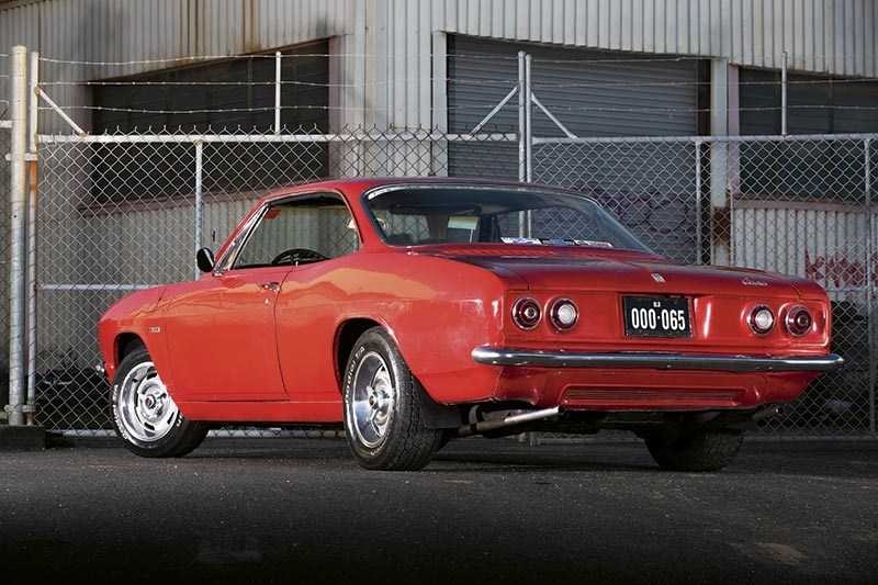 Chevrolet corvair rear