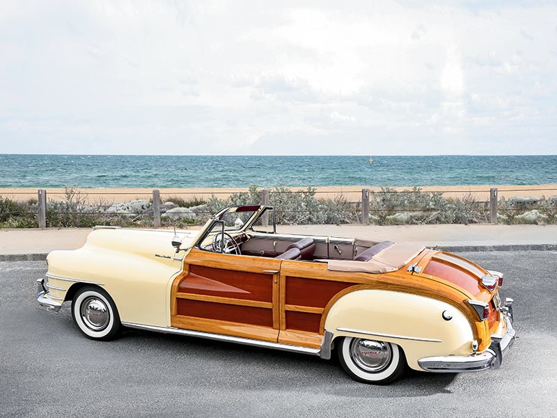 1947 Chrysler New Yorker Town and Country Convertible