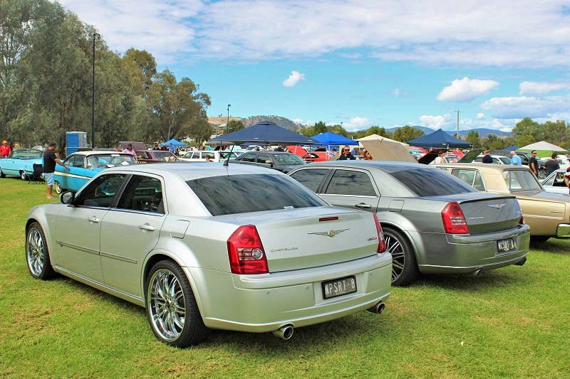Chryslers on the murray 300c Rear