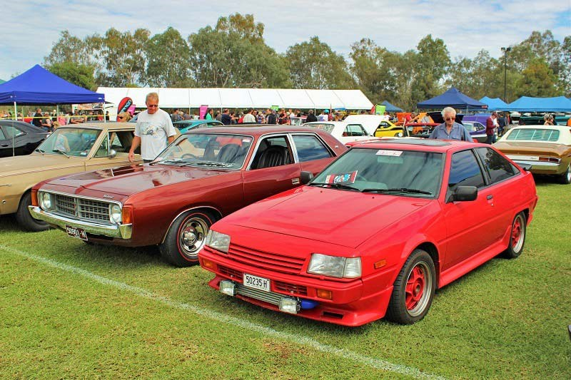 Chryslers on the murray AE86