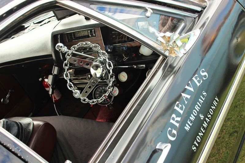 Chryslers on the murray Greaves Interior