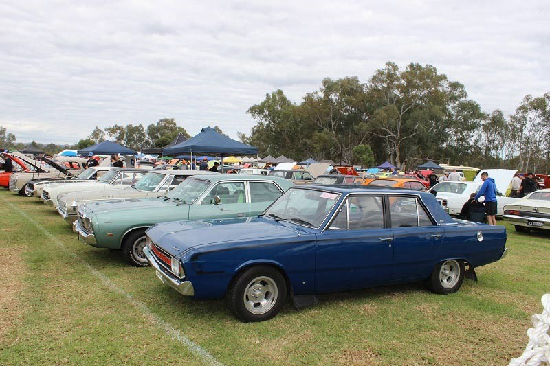 Chryslers on the murray Valiant Pacers