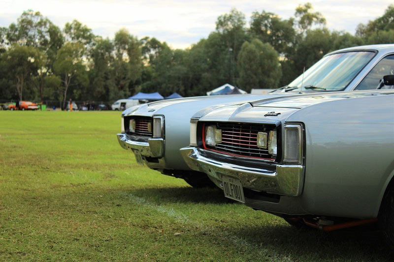 Chryslers on the murray silver chargers