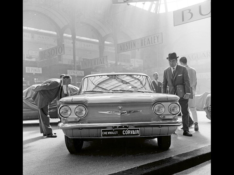 Corvair 1959 Paris Motor Show