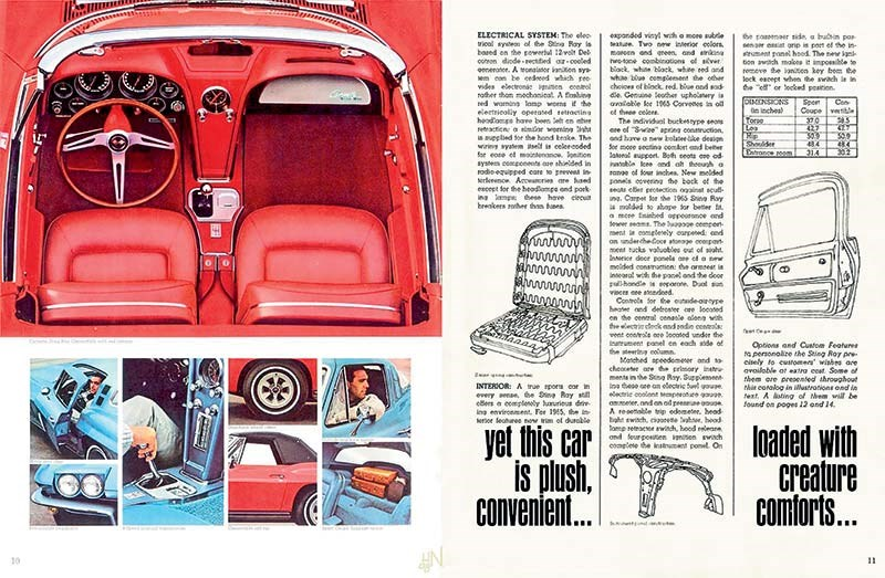 Corvette Historical Brochure 1965-6