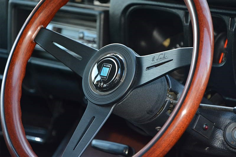 Datsun 1600 wagon steering wheel