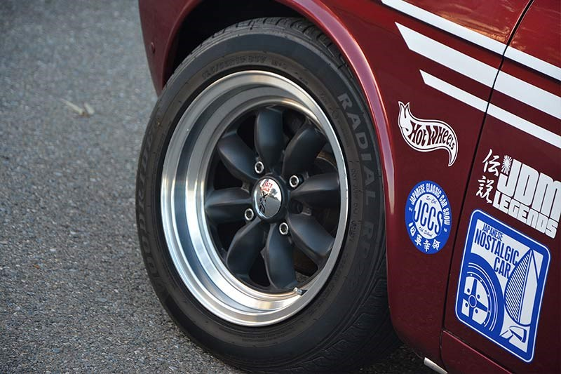 Datsun 1600 wagon wheel