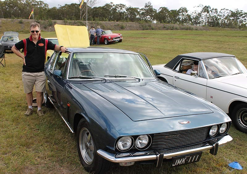 David Cullen s 1973 Jensen Reader Ride 2