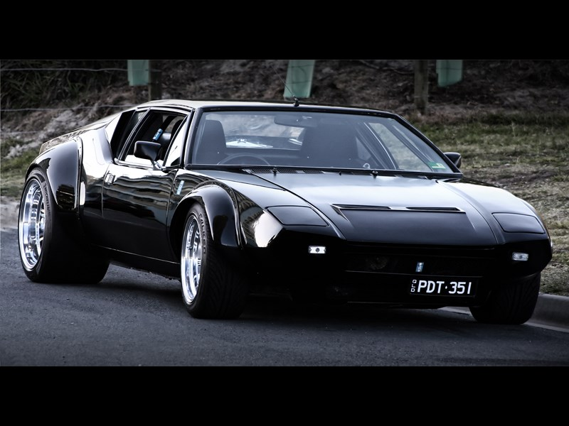 De Tomaso Pantera GT4 Tribute front right