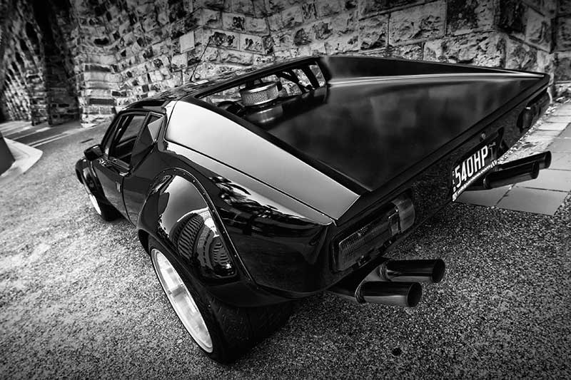 De Tomaso Pantera GT4 Tribute left rear quarter