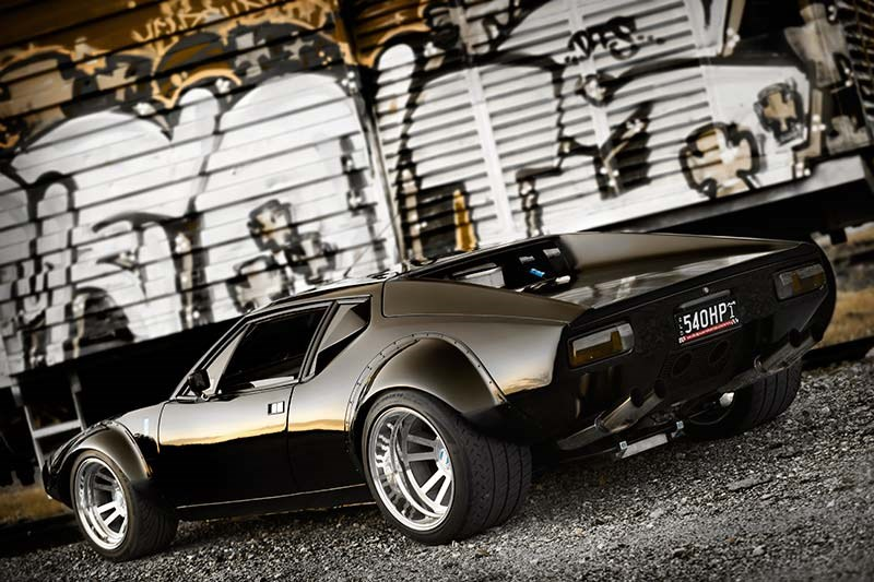 De Tomaso Pantera GT4 Tribute side left